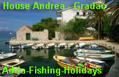 House Andrea - Gradac - Adria-Fishing Holidays
